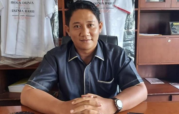 Ketua Fraksi Gerindra Andri Fransiscus Pane